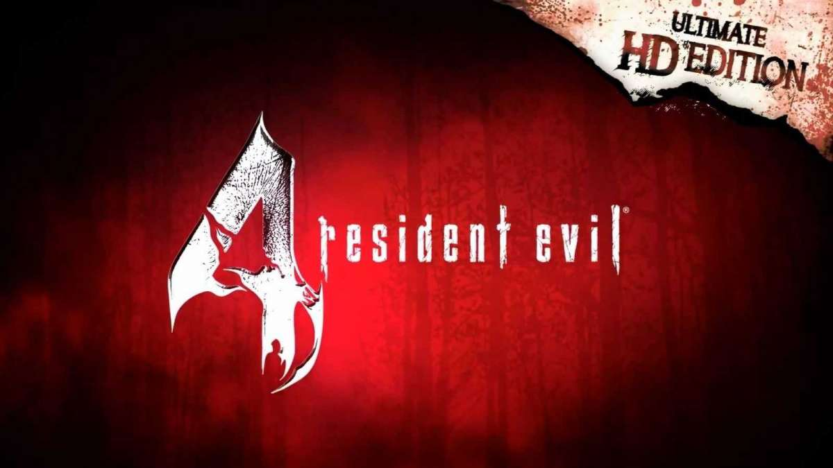 resident evil 4 ultimate hd edition logo