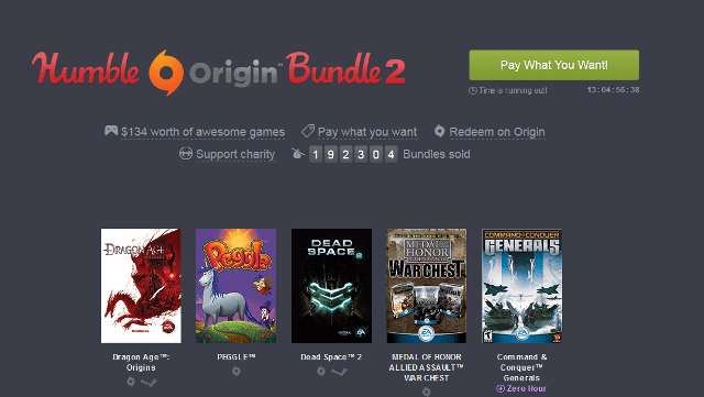Humble Bundle Pinterest: Humble Bundle: Nuove Offerte Sui Giochi Electronic Arts