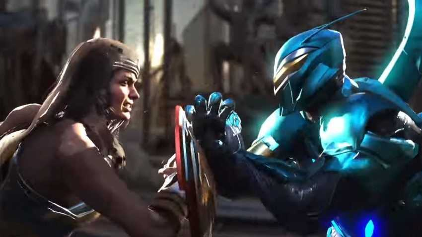 InJustice 2: Wonder Woman e Blue Beetle nel nuovo trailer