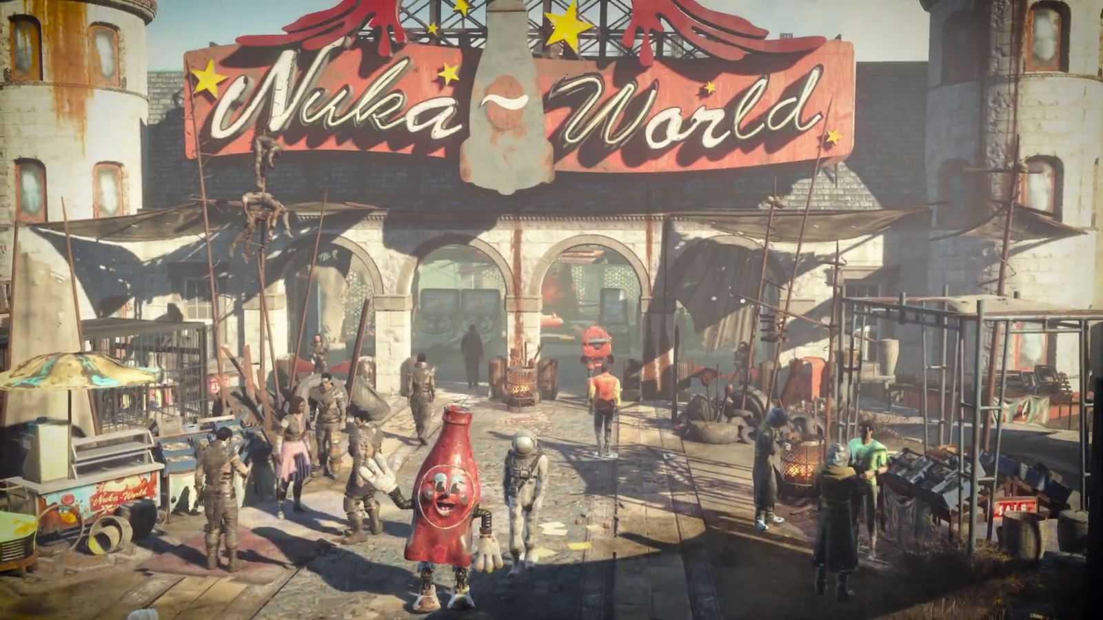 Fallout 4: annunciata la data d'uscita di Nuka World, nuovo trailer