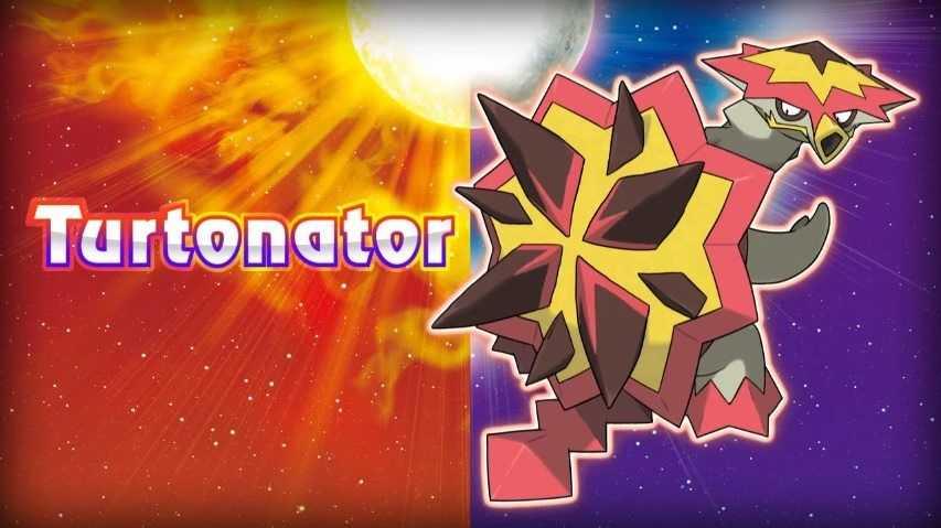 Pokemon Sole e Luna, svelato il nuovo Pokemon Turtonator