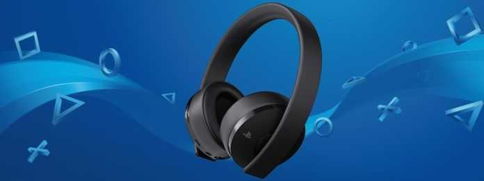 Sony Headset Gold