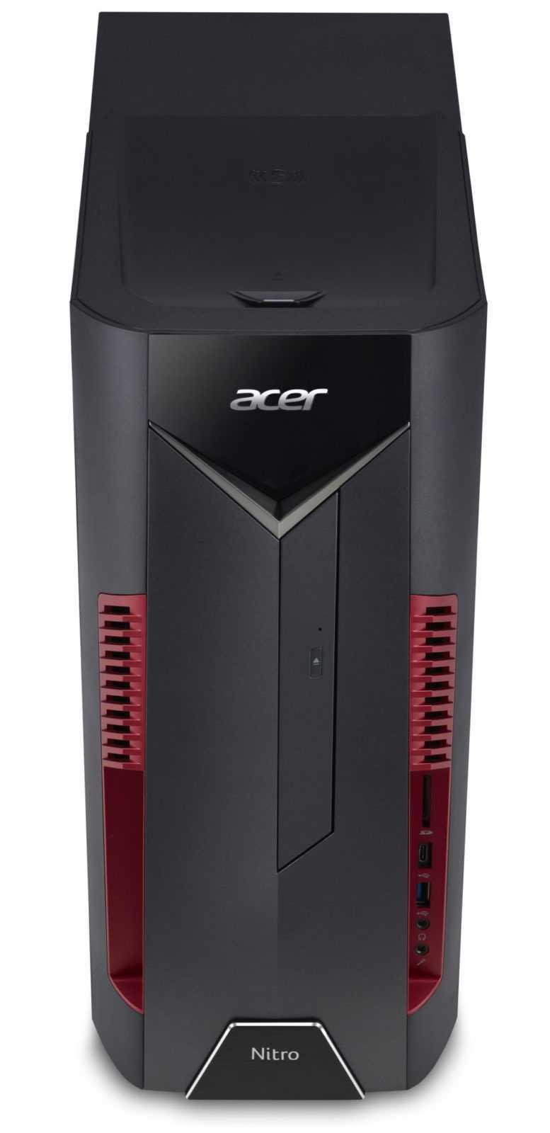 Ecco I Nuovi Monitor E Pc Desktop Acer Nitro Gametimers