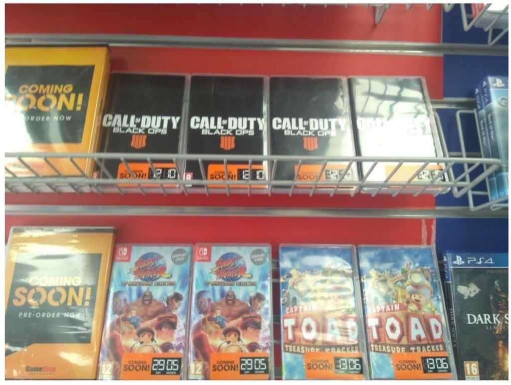 [Rumor] Call of Duty Black Ops 4: Da GameStop appaiono le custodie della versione Switch
