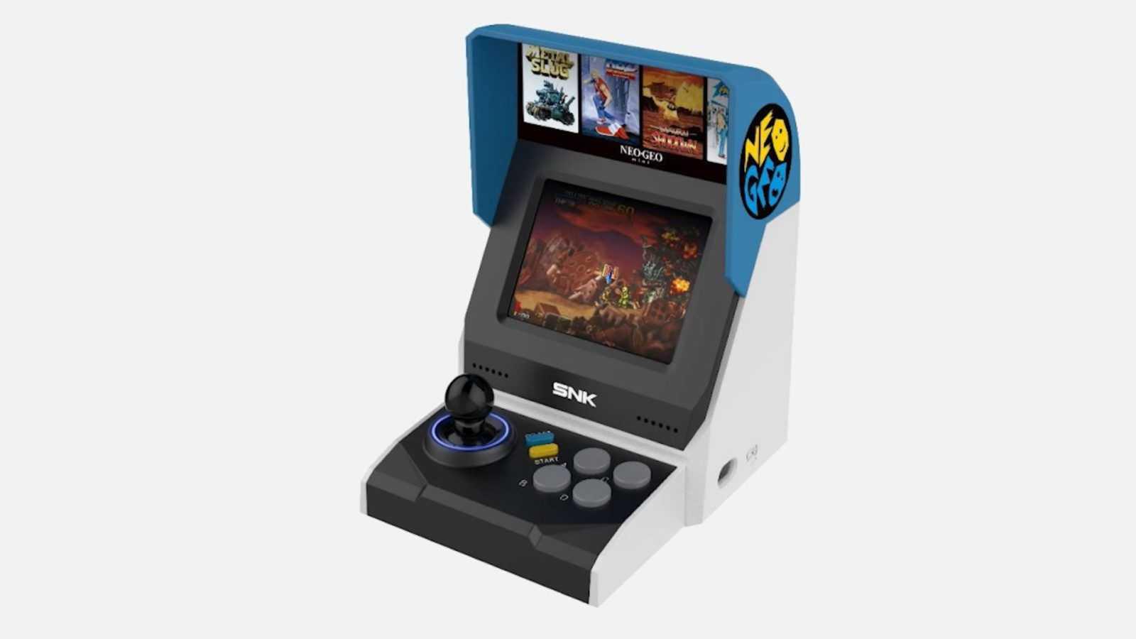 SNK Neo Geo Mini, la retro console delle meraviglie potrebbe essere così