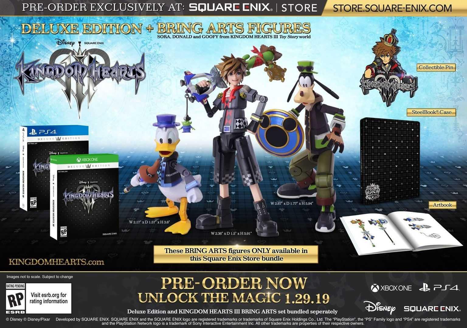 Kingdom Hearts III Collector's Edition