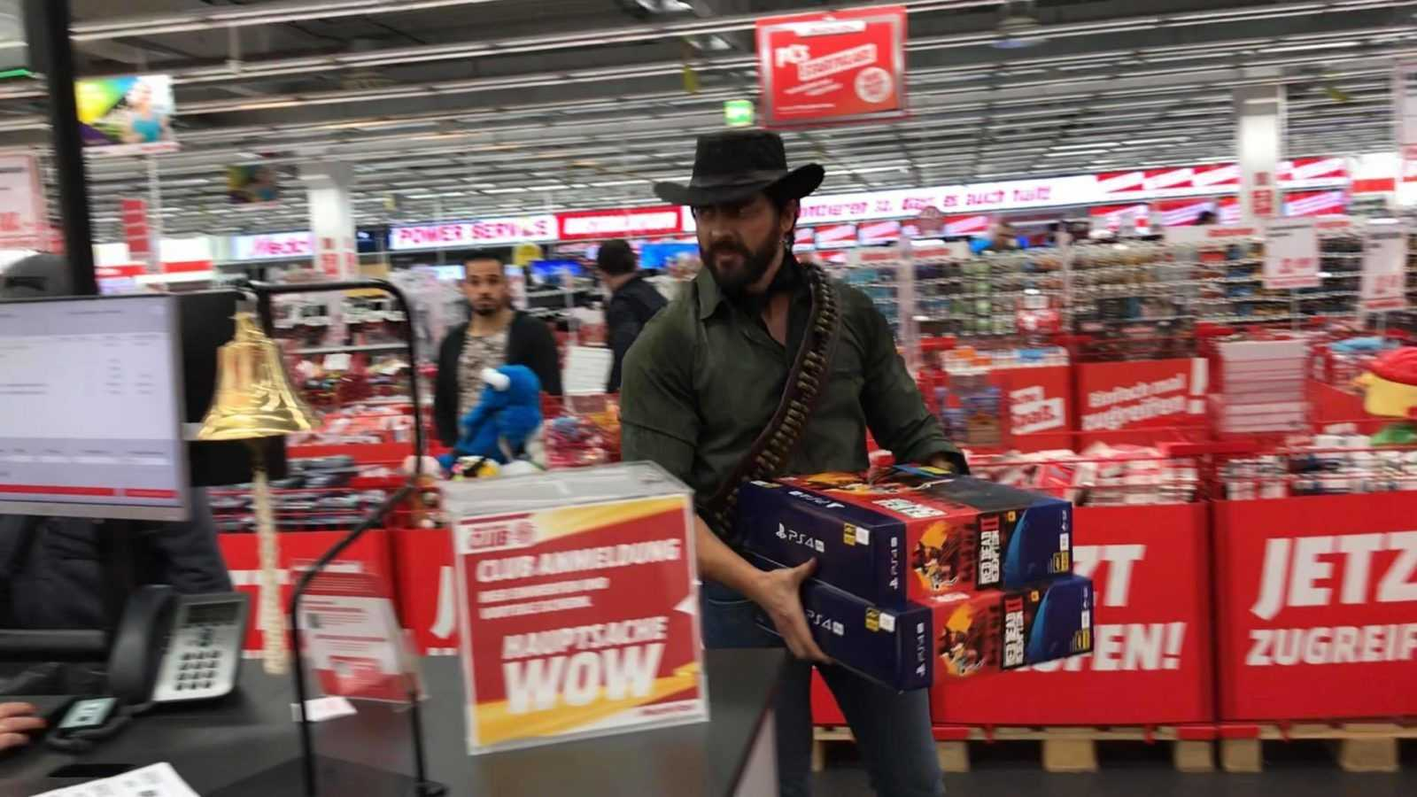 Red Dead Redemption 2 Arthur Morgan Rapina Al Mediaworld