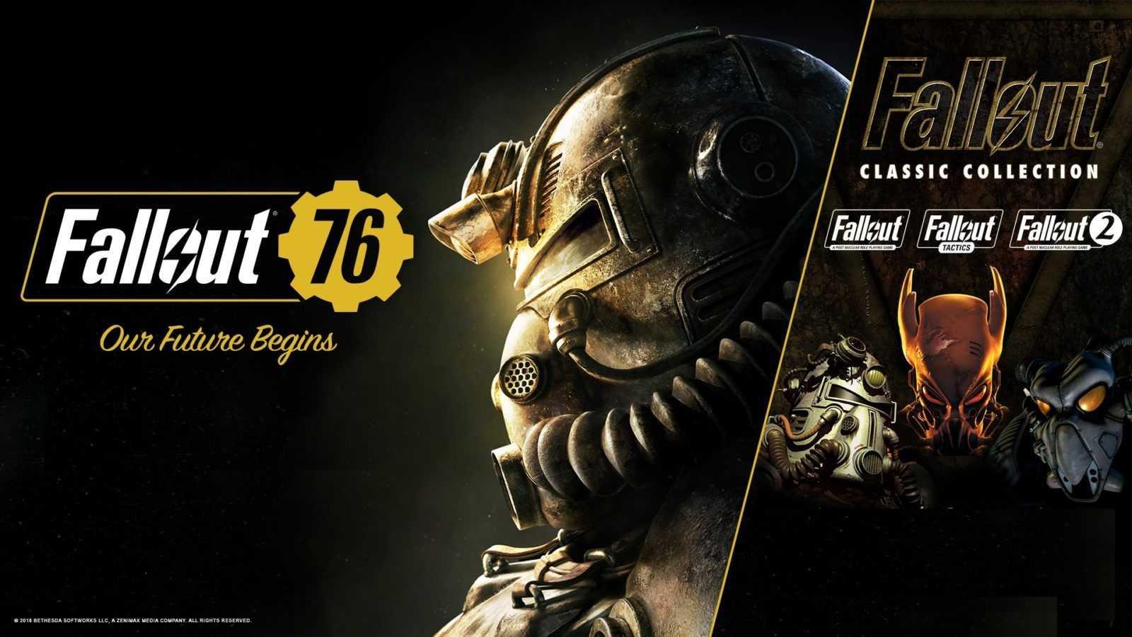 Fallout 76, gli acquirenti avranno in regalo Fallout Classic Collection