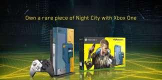 Xbox One X Cyberpunk 2077 1