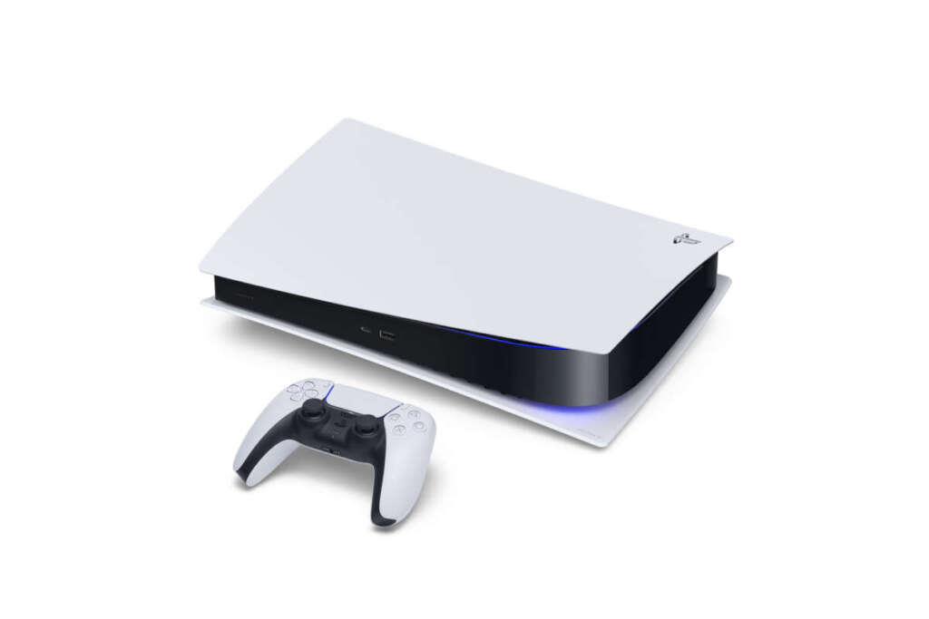 playstation 5 orizzontale