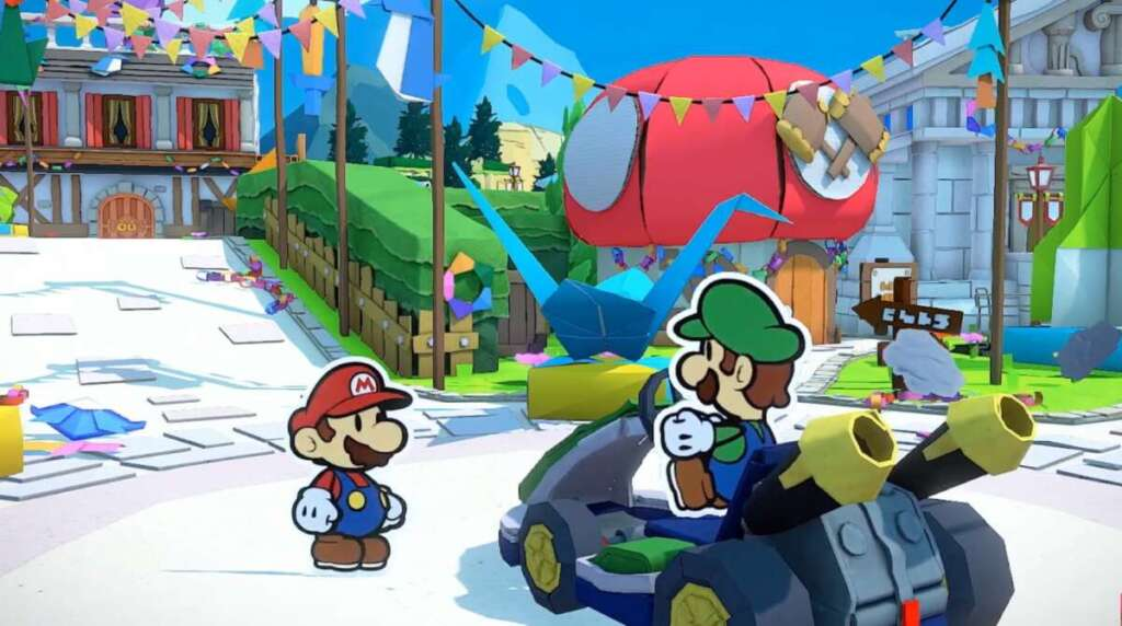 Paper Mario: The Origami King 3