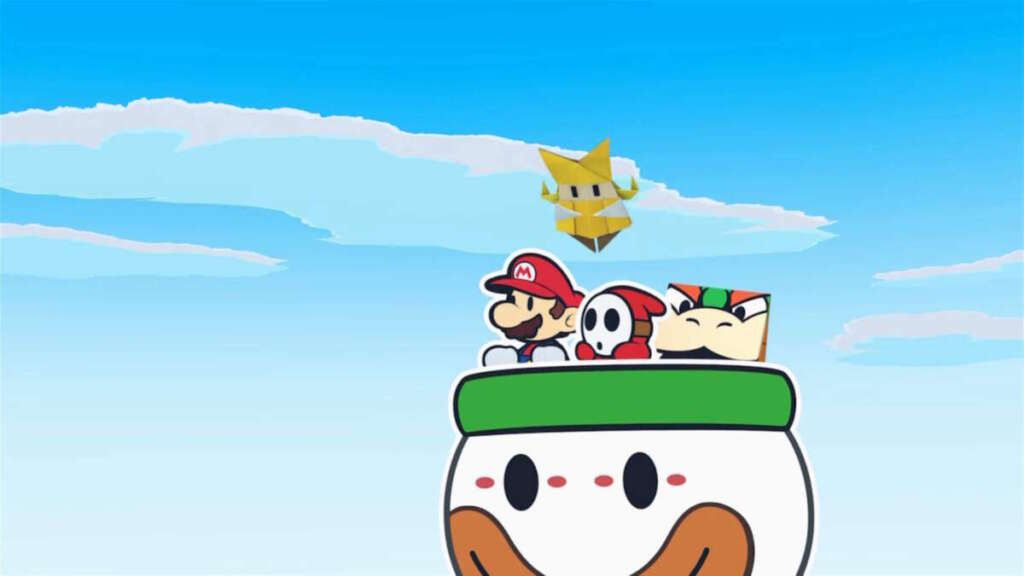 Paper Mario: The Origami King 1