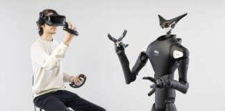 Giappone robot VR