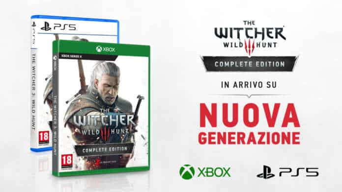 The Witcher 3 PlayStation 5 Xbox Series X