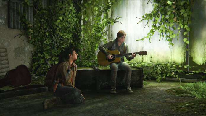the last of us part 2 naughty dog ps4 playstation 4 sony ellie dina