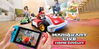 Mario Kart Live Home Circuit nintendo switch realtà aumentata