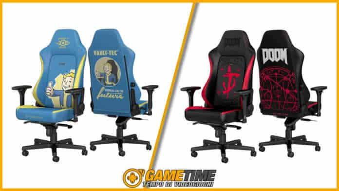Noblechairs Doom Fallout