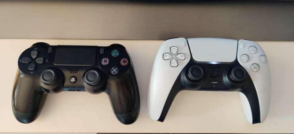 PS5 DualSense vs PS4 DualShock 4