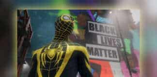 Marvel's Spider-Man Miles Morales Black Lives Matter