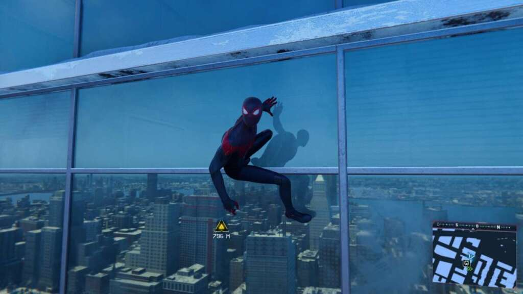 Marvel's Spider-Man Miles Morales PS5 ray tracing grattacielo