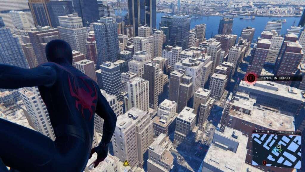 PS5 Marvel's Spider-Man Miles Morales grattacieli