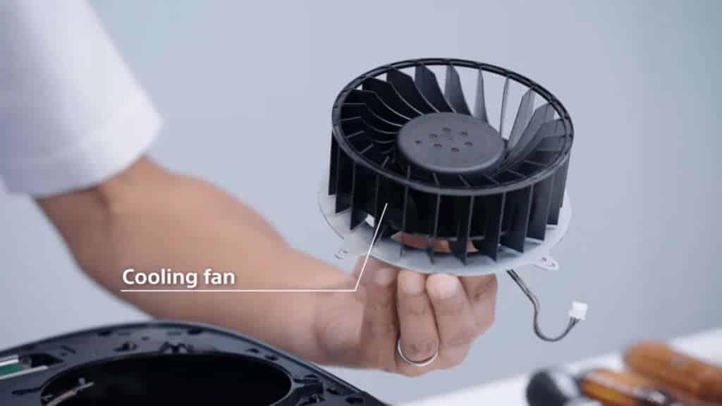 PS5 ventola raffreddamento 120mm