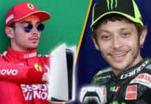 PlayStation 5 Charles Leclerc Valentino Rossi