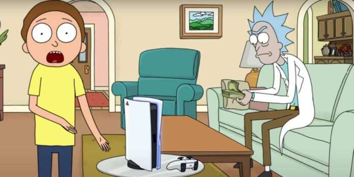 rick and morty playstation 5 ps5 sony
