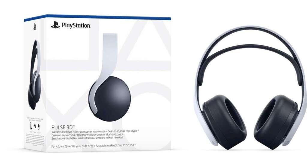 sony pulse 3d wireless headset cuffie ps5
