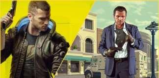 Cyberpunk 2077 vs GTA 5
