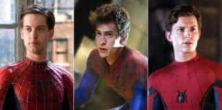 Spider-Man No Way Home Tom Holland Tobey Maguire Andrew Garfield