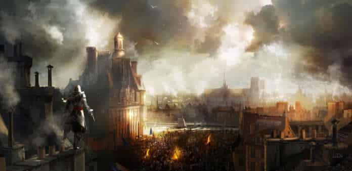 assassins creed unity france