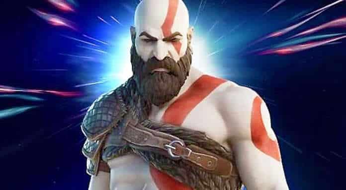 kratos god of war fortnite battle royale ps4