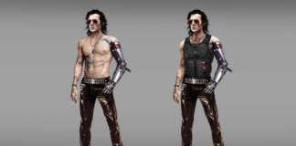 Johnny Silverhand Cyberpunk 2077 concept