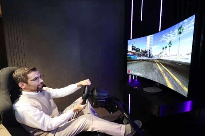 LG Gaming OLED pieghevole