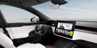 Tesla Model S Plaid The Witcher 3 Wild Hunt Cyberpunk 2077