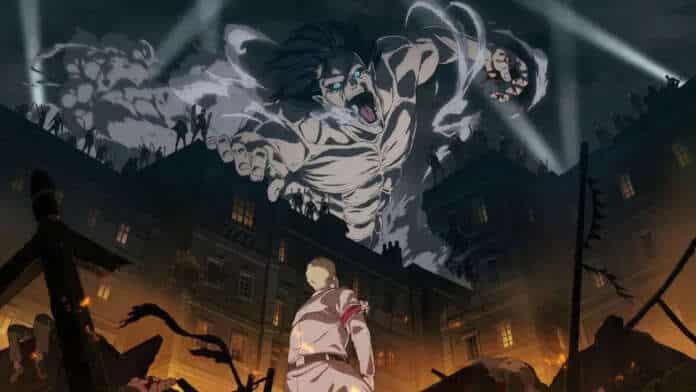 l'attacco dei giganti attack on titan anime jap