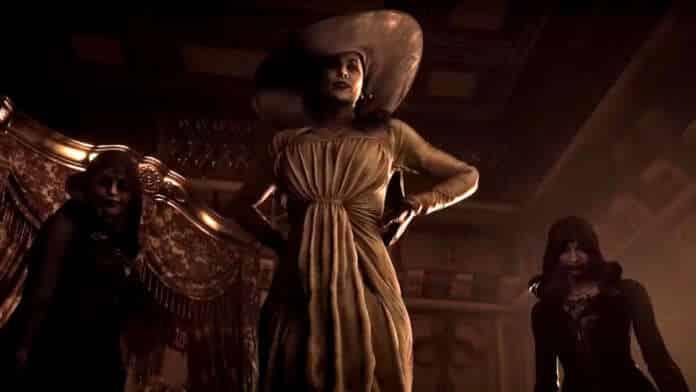 resident evil village donna gigante