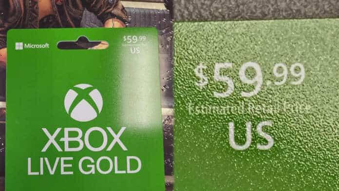 xbox live gold 60 dollari 6 mesi rumor