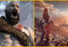 Horizon Forbidden West God of War 2 Ragnarok PS5 PlayStation 5