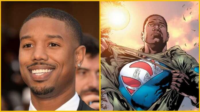 Superman reboot Michael B. Jordan Val-Zod