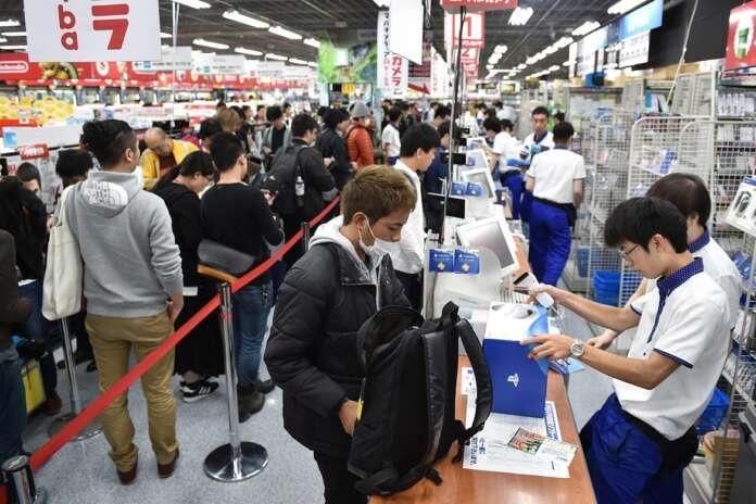 playstation 5 tokyo sony ps5 vendite