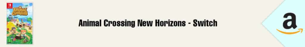 Banner Amazon Animal Crossing Switch