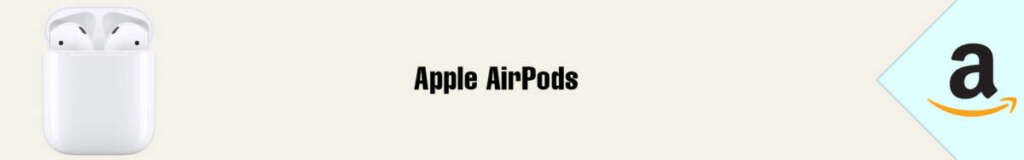 Banner Amazon Apple AirPods