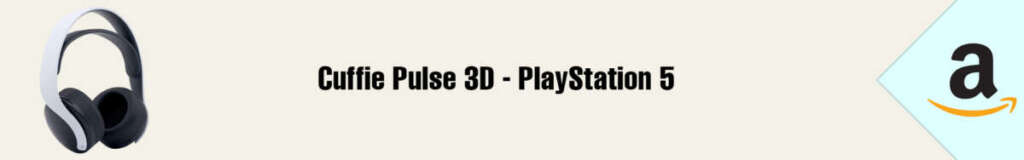 Banner Amazon Cuffie Pulse 3D PS5
