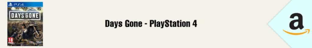 Banner Amazon Days Gone PS4