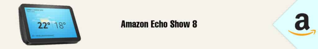 Banner Amazon Echo Show 8