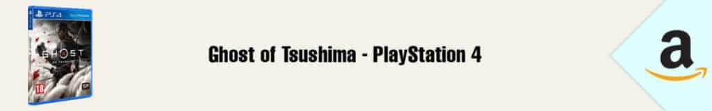 Banner Amazon Ghost of Tsushima PS4