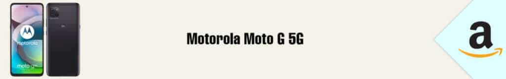 Banner Amazon Motorola Moto G 5G