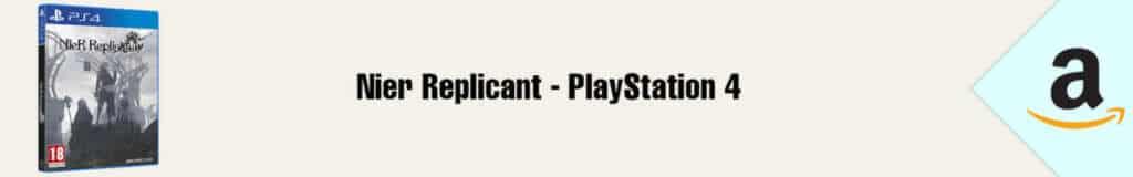 Banner Amazon Nier Replicant PS4